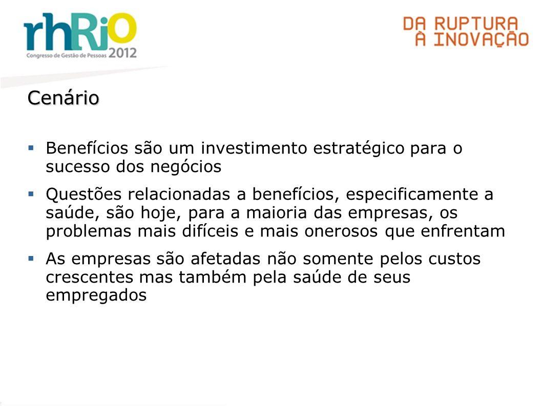 Cenário Benefícios são um investimento estratégico para o sucesso dos negócios.