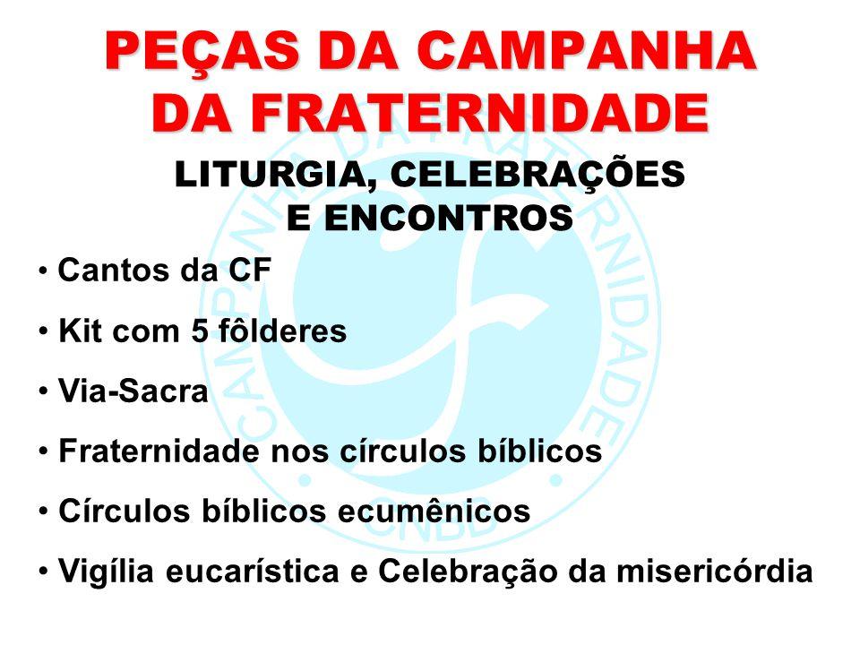 PEÇAS DA CAMPANHA DA FRATERNIDADE