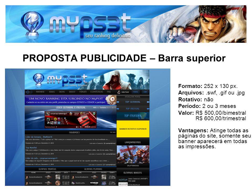 PROPOSTA PUBLICIDADE – Barra superior