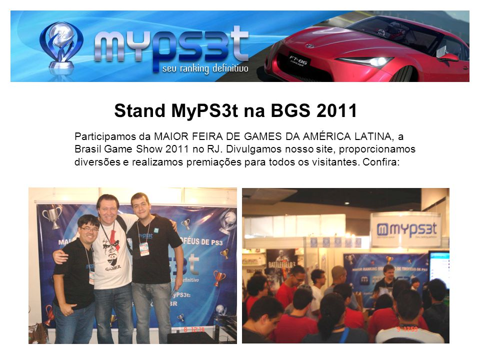 Stand MyPS3t na BGS 2011