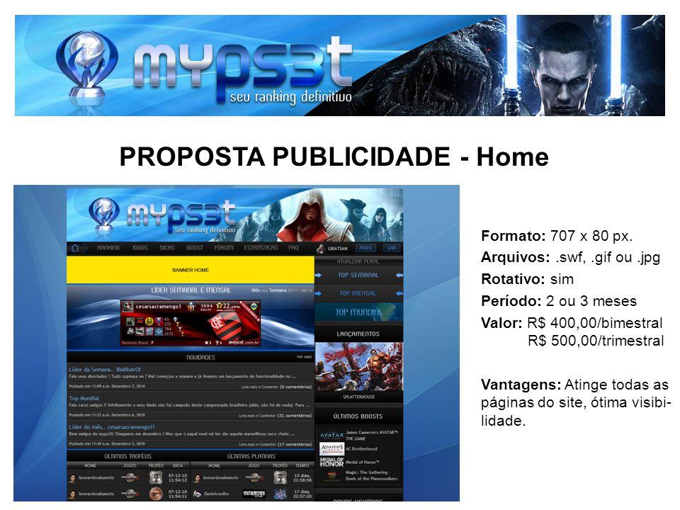 PROPOSTA PUBLICIDADE - Home