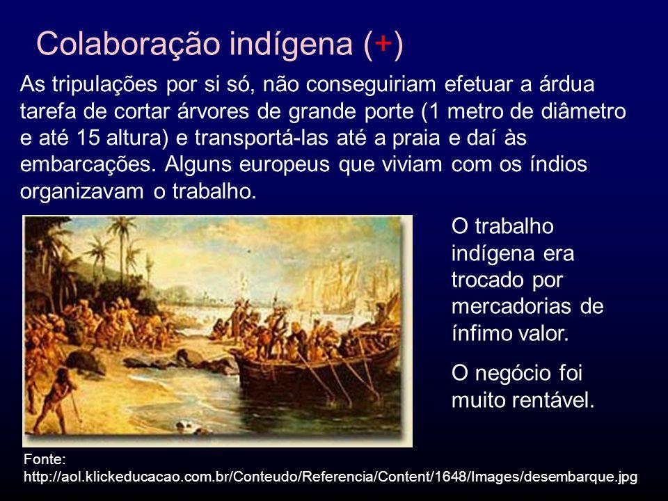 Colaboração indígena (+)