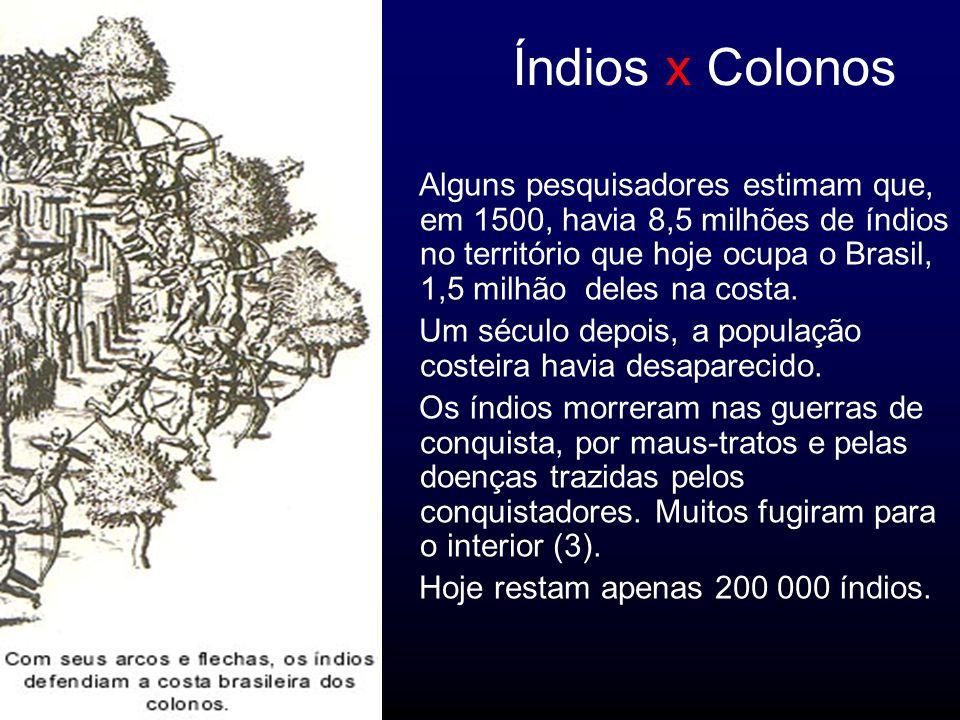 Índios x Colonos