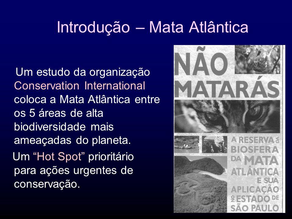 Introdução – Mata Atlântica