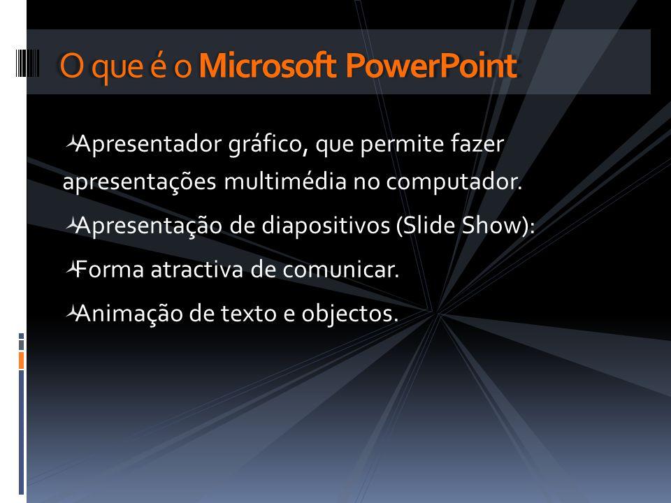 O que é o Microsoft PowerPoint
