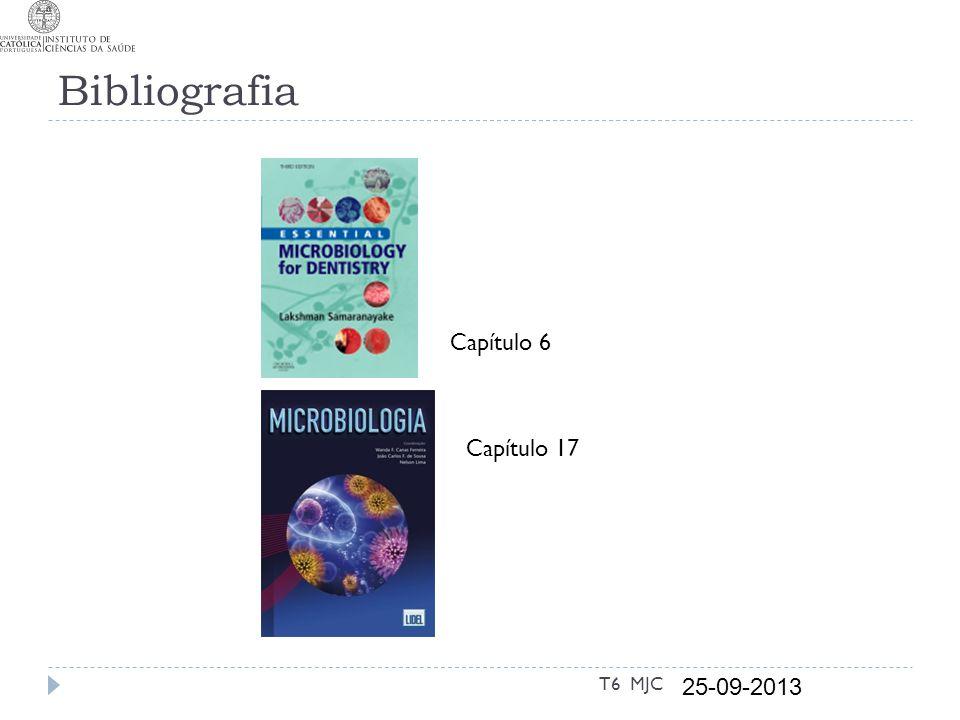 Bibliografia Capítulo 6 Capítulo 17 T6 MJC 25-09-2013