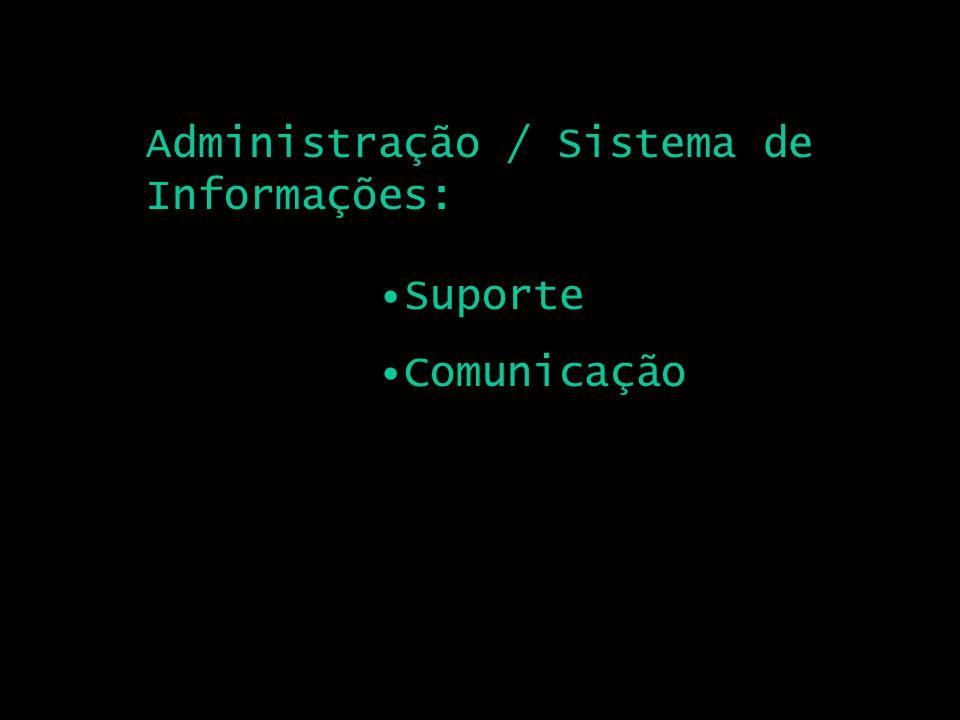 Administração / Sistema de Informações: