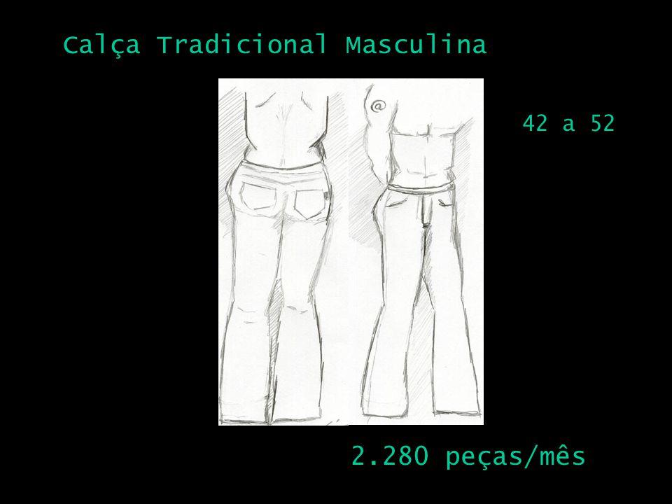 Calça Tradicional Masculina