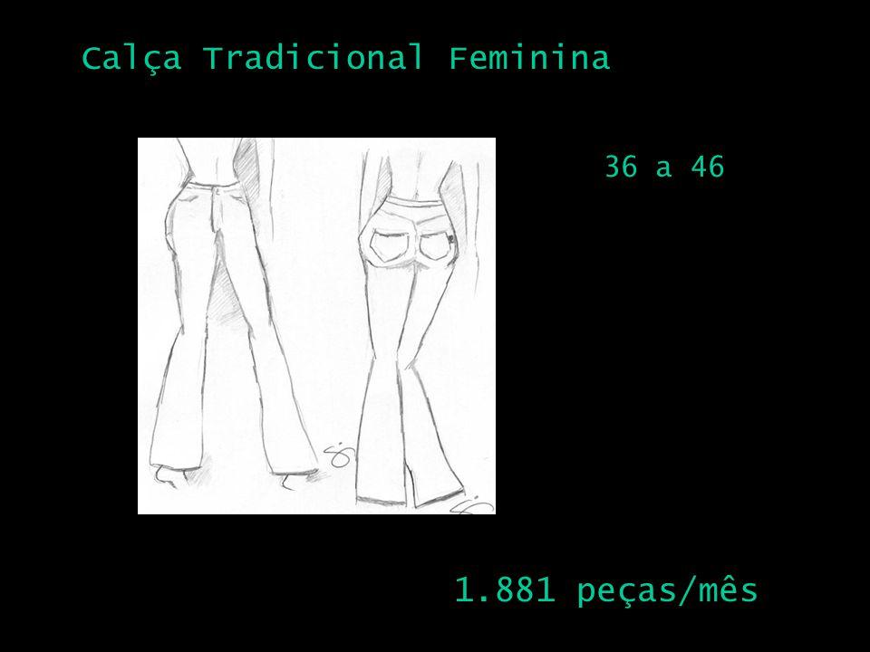 Calça Tradicional Feminina