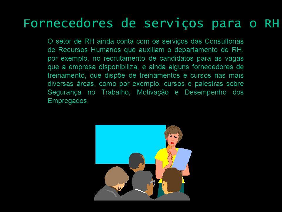 Fornecedores de serviços para o RH