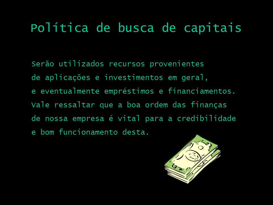 Política de busca de capitais