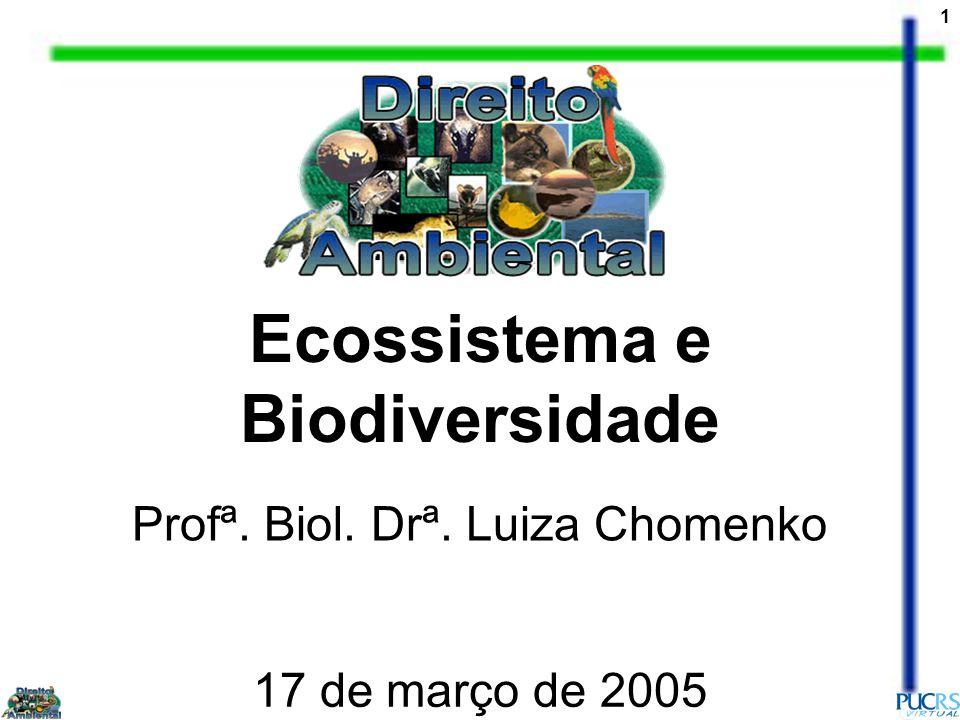 Ecossistema e Biodiversidade