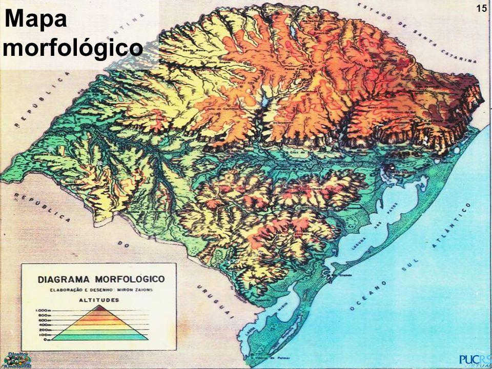 Mapa morfológico