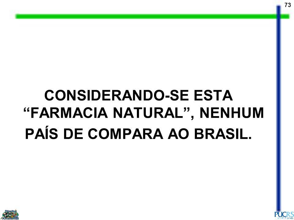 CONSIDERANDO-SE ESTA FARMACIA NATURAL , NENHUM