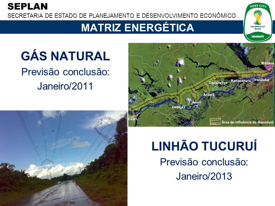 GÁS NATURAL LINHÃO TUCURUÍ