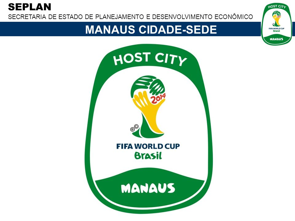 MANAUS CIDADE-SEDE