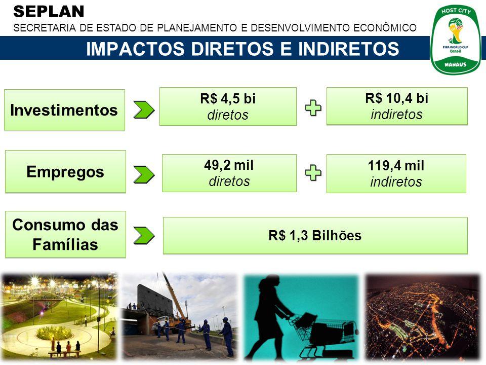 IMPACTOS DIRETOS E INDIRETOS