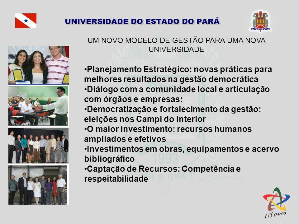 UM NOVO MODELO DE GESTÃO PARA UMA NOVA UNIVERSIDADE