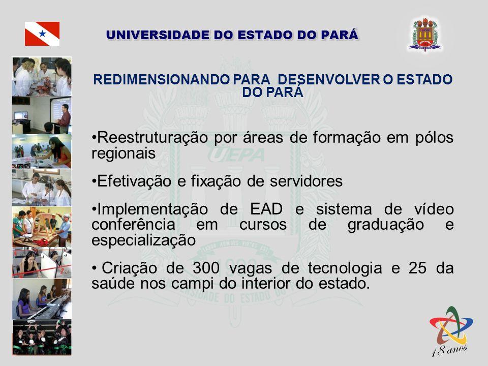 REDIMENSIONANDO PARA DESENVOLVER O ESTADO DO PARÁ