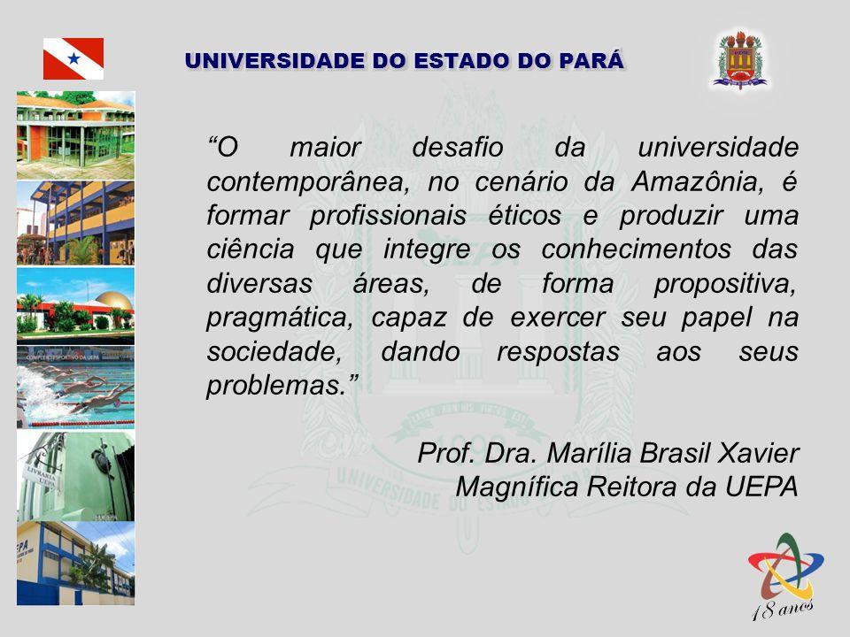 O maior desafio da universidade contemporânea, no cenário da Amazônia, é formar profissionais éticos e produzir uma ciência que integre os conhecimentos das diversas áreas, de forma propositiva, pragmática, capaz de exercer seu papel na sociedade, dando respostas aos seus problemas.