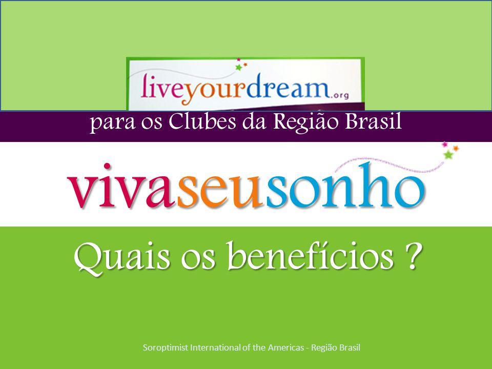 vivaseusonho Quais os benefícios para os Clubes da Região Brasil