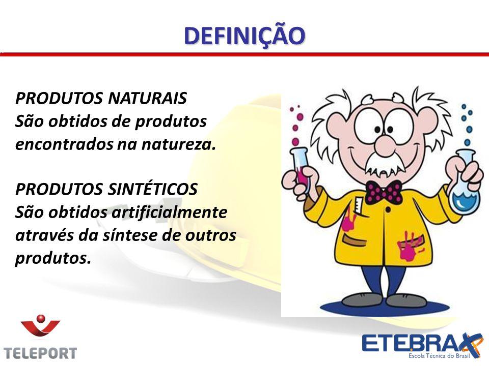 DEFINIÇÃO PRODUTOS NATURAIS