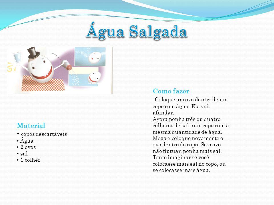 Água Salgada Como fazer