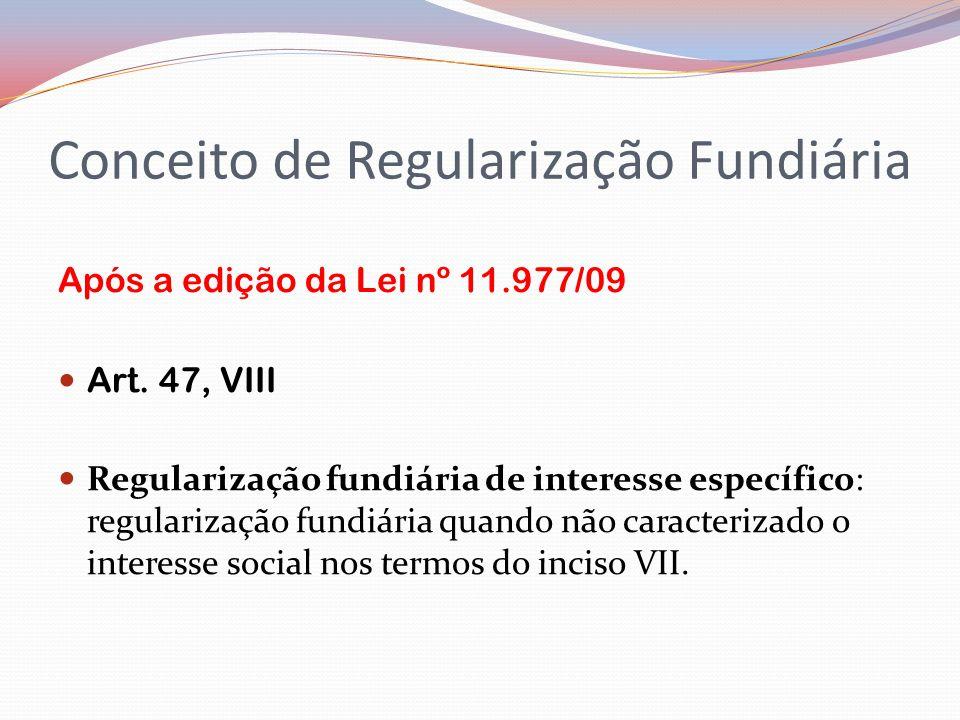 Conceito de Regularização Fundiária