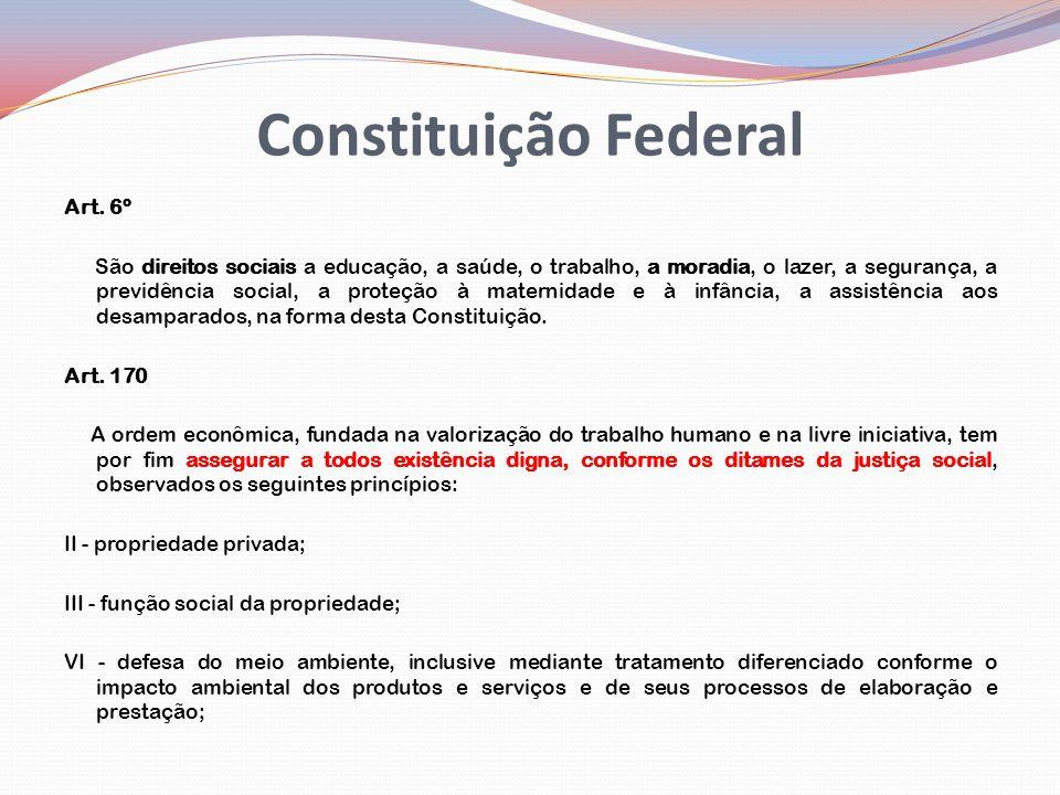 Constituição Federal Art. 6º