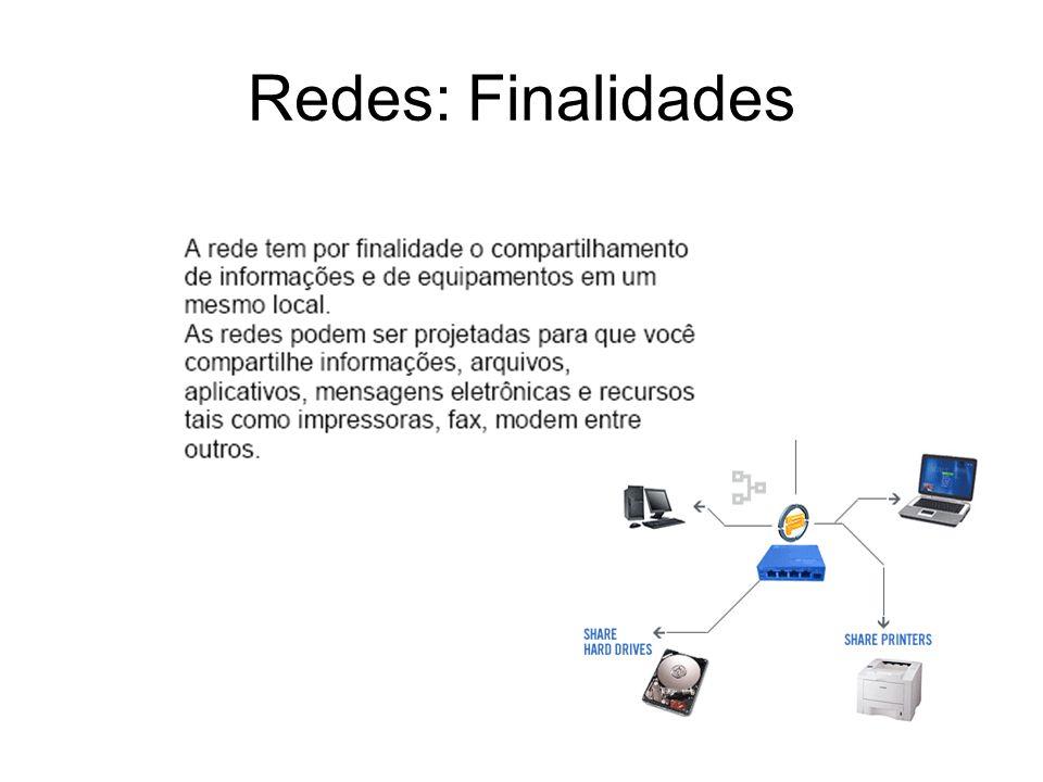 Redes: Finalidades