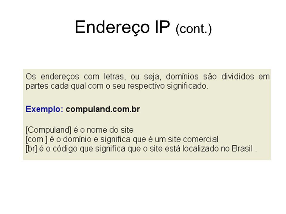 Endereço IP (cont.)