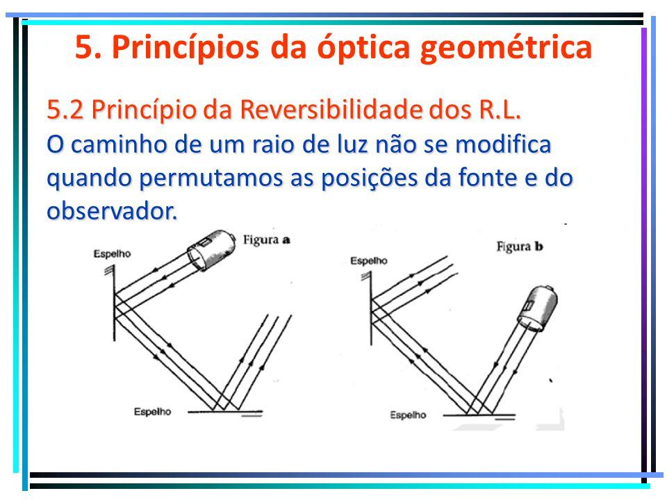 5. Princípios da óptica geométrica