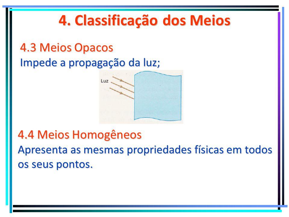 4. Classificação dos Meios