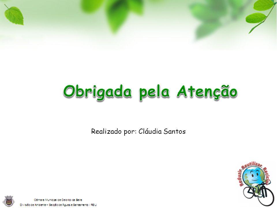 Realizado por: Cláudia Santos