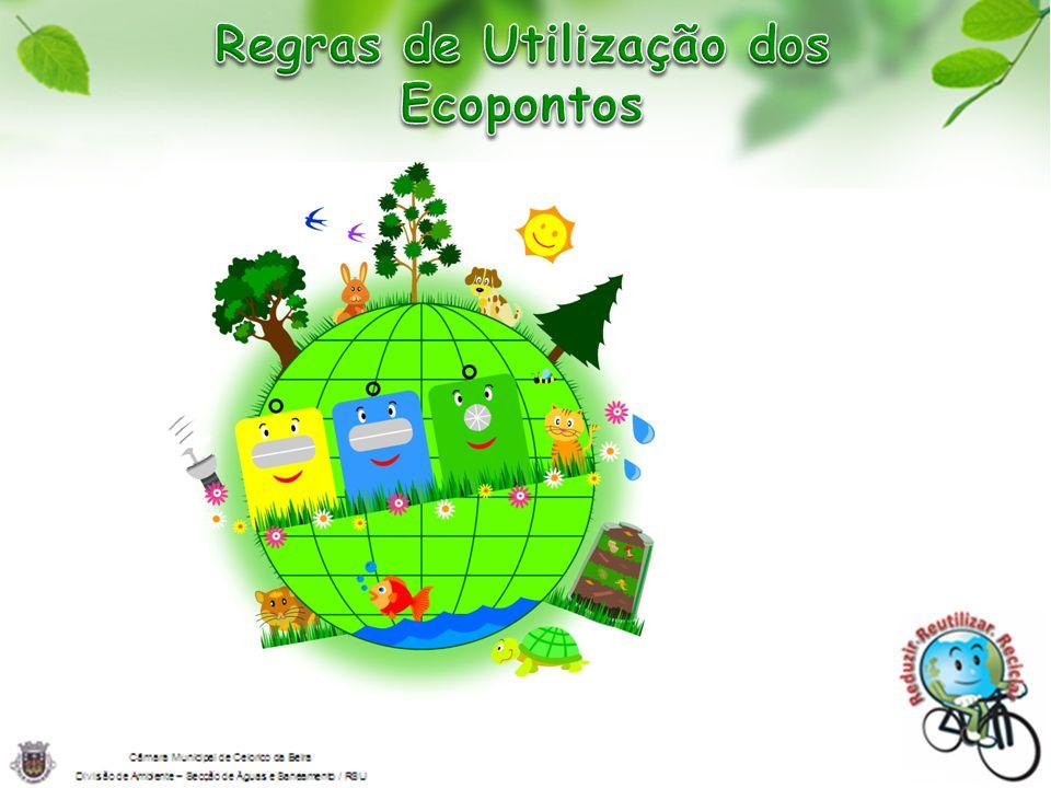 Regras de Utilização dos Ecopontos