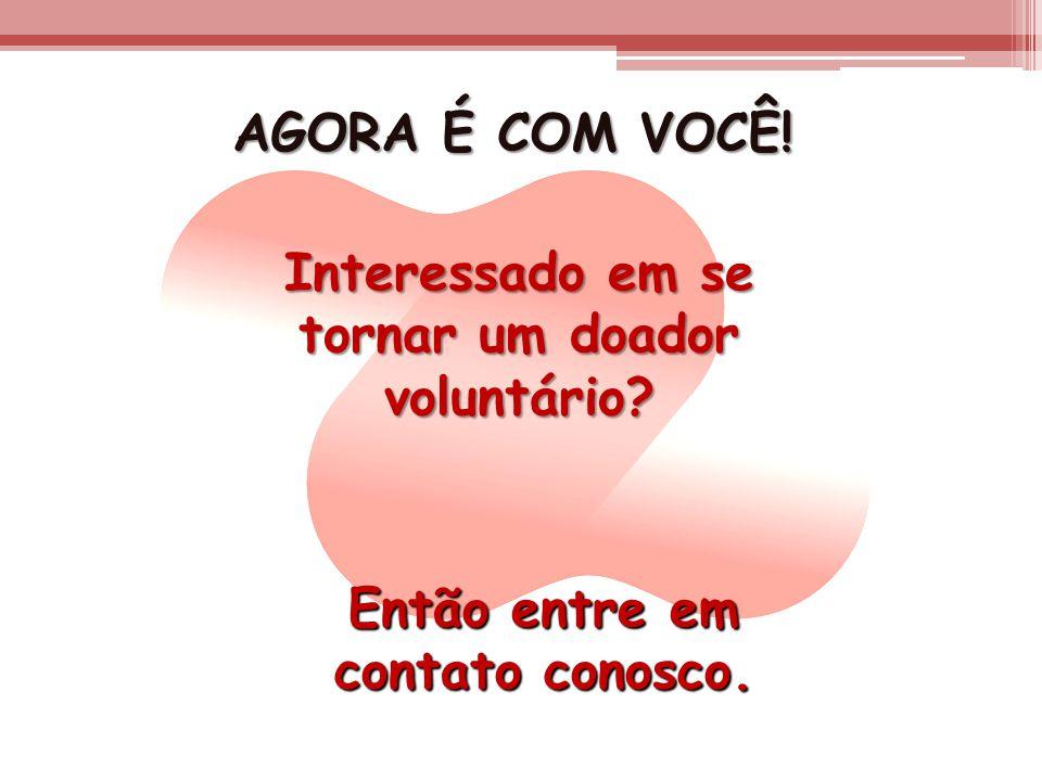 tornar um doador voluntário