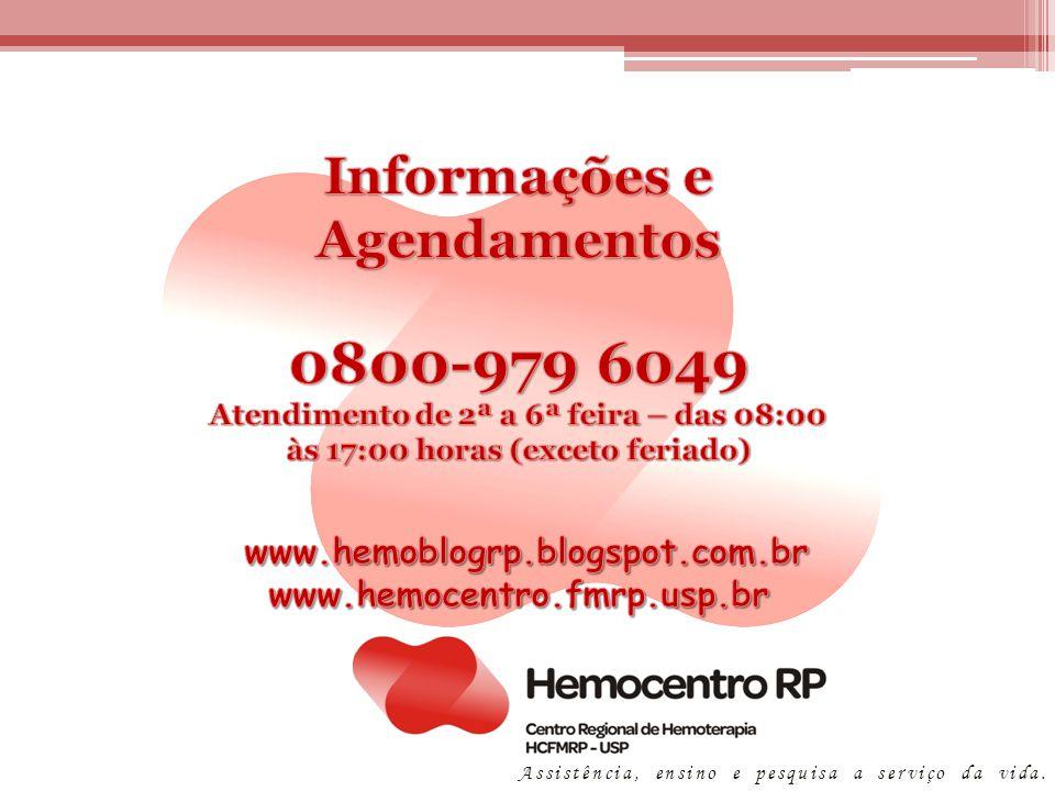 Informações e Agendamentos