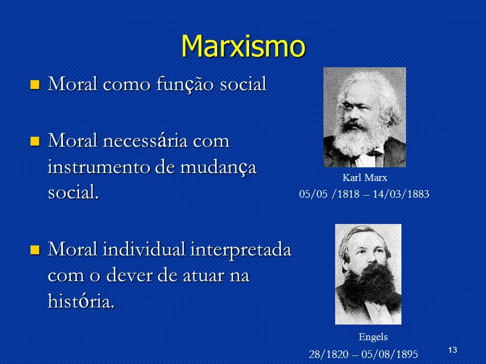 Marxismo Moral como função social