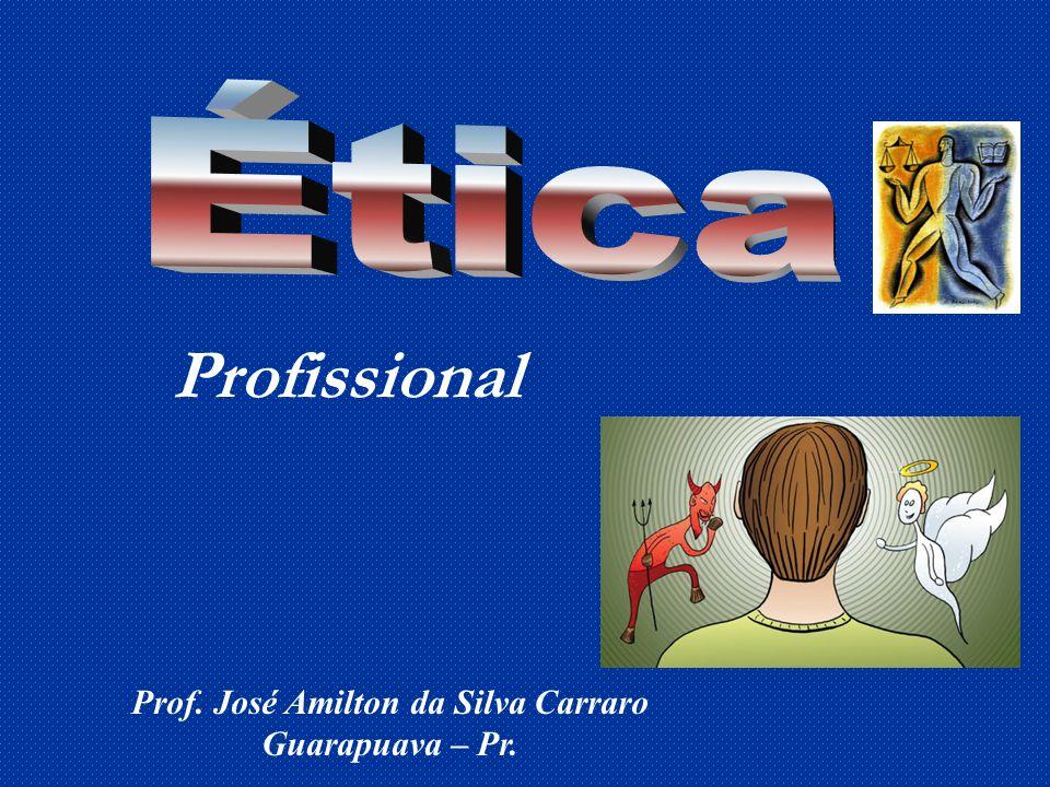 Prof. José Amilton da Silva Carraro Guarapuava – Pr.
