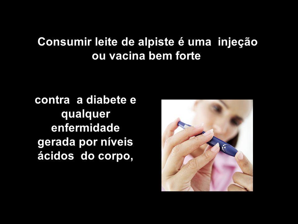 Consumir leite de alpiste é uma injeção ou vacina bem forte