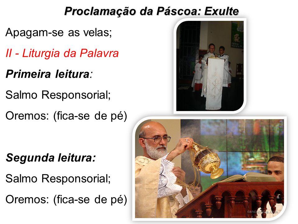 Proclamação da Páscoa: Exulte