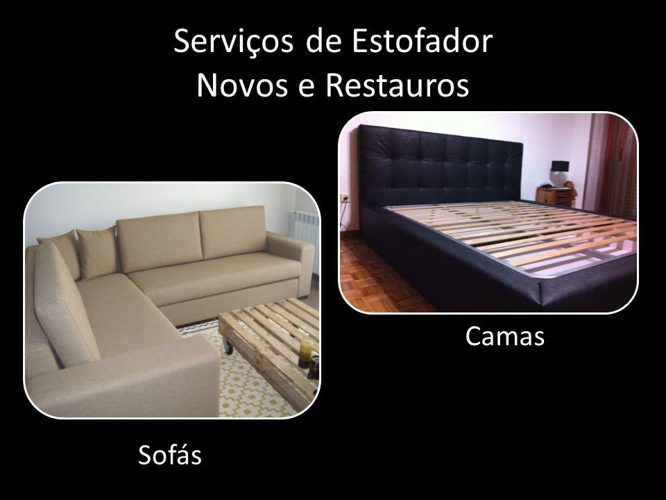Serviços de Estofador Novos e Restauros