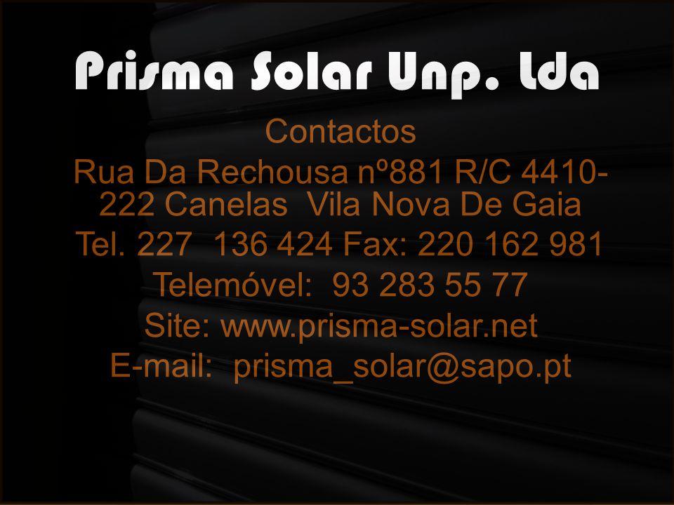 Prisma Solar Unp. Lda Contactos