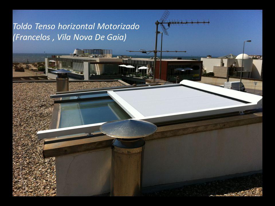Toldo Tenso horizontal Motorizado (Francelos , Vila Nova De Gaia)