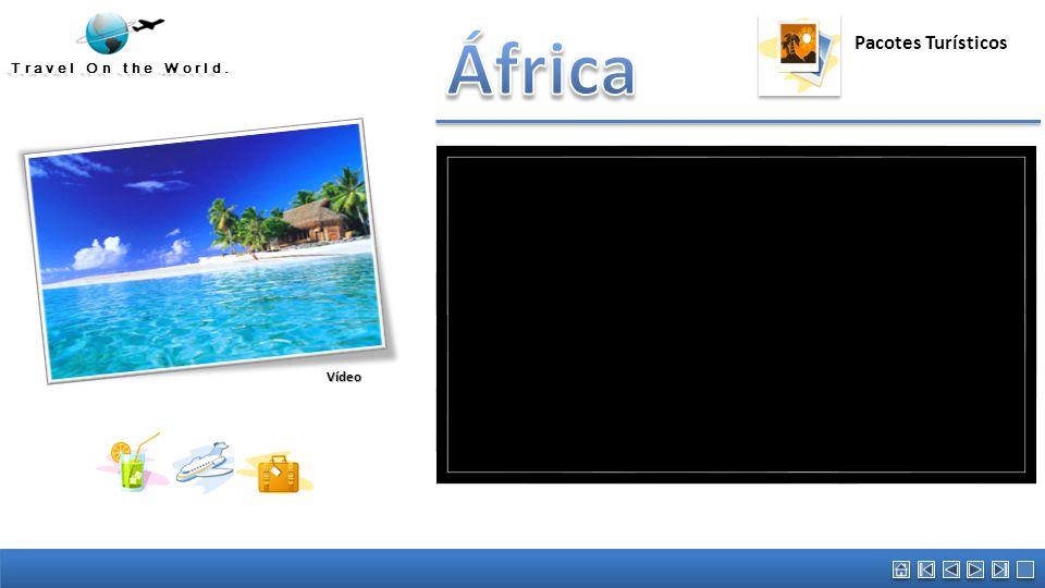África Austrália Vídeo promocional. Pacotes Turísticos