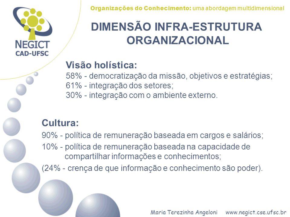 DIMENSÃO INFRA-ESTRUTURA