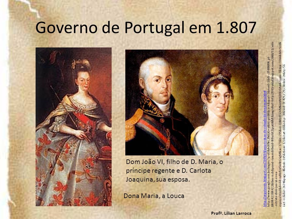 Governo de Portugal em 1.807