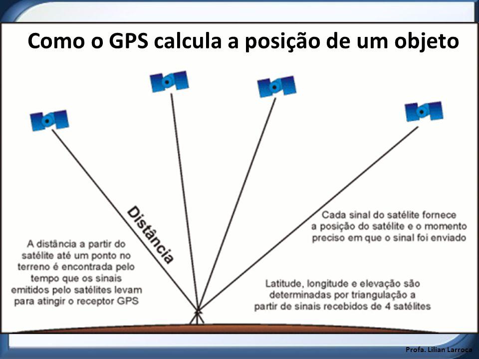 Como o GPS calcula a posição de um objeto