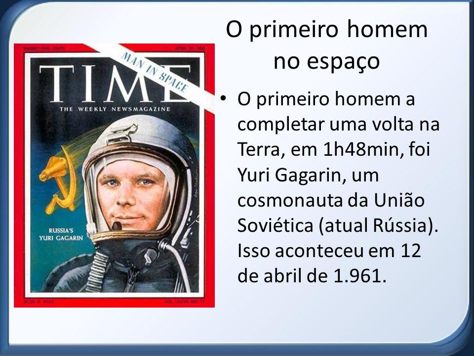 O primeiro homem no espaço
