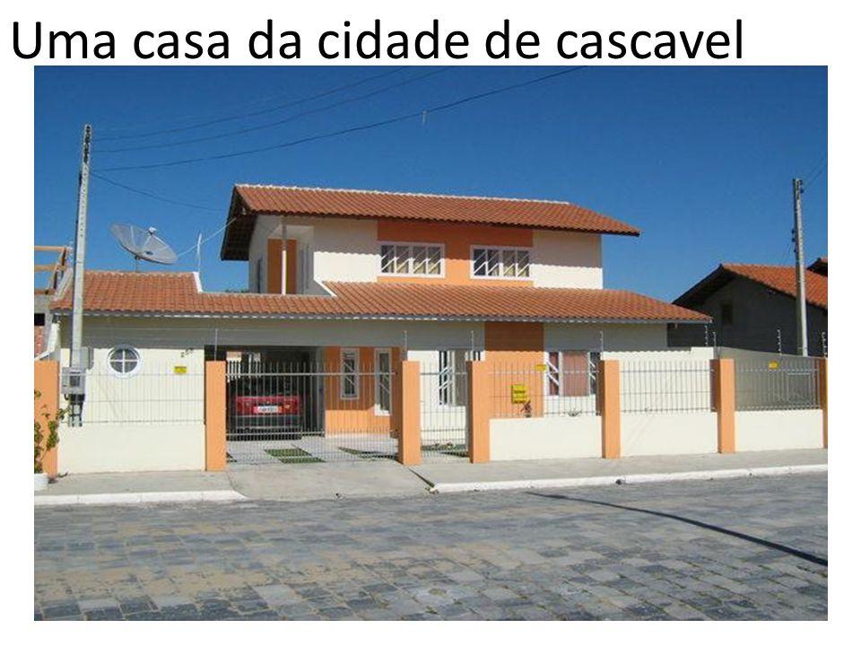 Uma casa da cidade de cascavel